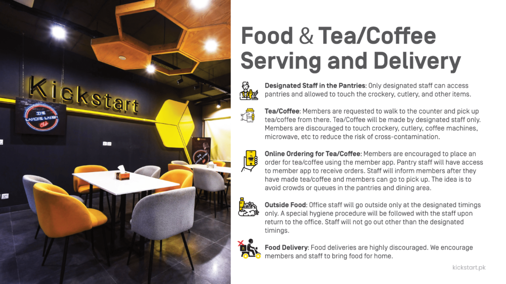Hygiene and Safety Protocols for Food and Tea/Coffee Serving in the Office