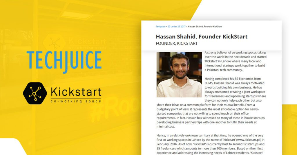 Techjuice and Kickstart
