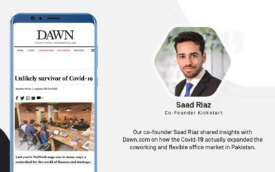 Kickstart Coworking Space - Saad Riaz - Co-founder
